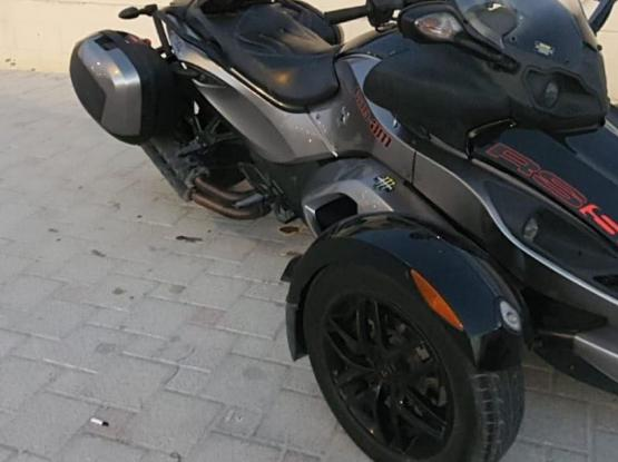 Can Am Spyder RS 2013