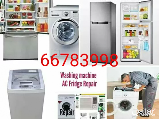 Fridge, AC, Washing machine repair. Please call 66783998