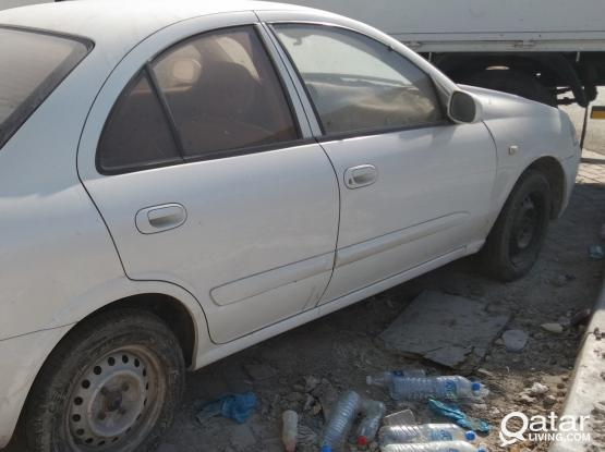 Spare parts available Nissan sunny 2010