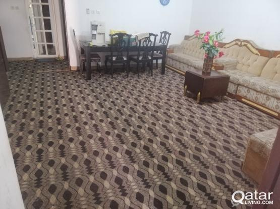 2BHK, 2 bed rooms and  very big hall ground  floor near Retail Mart Almeera