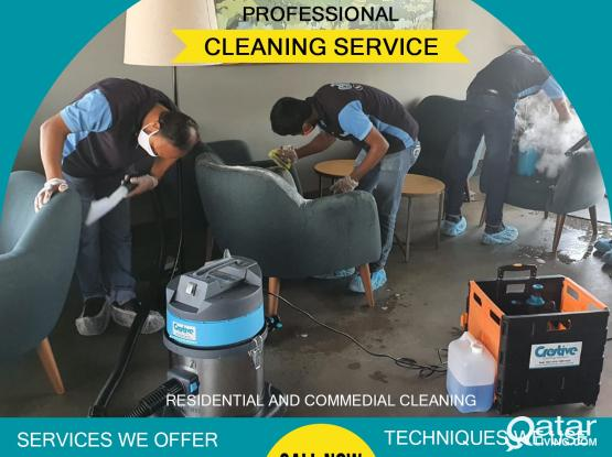Sanitizing  / Cleaning Service - 33220215 ,  33601007