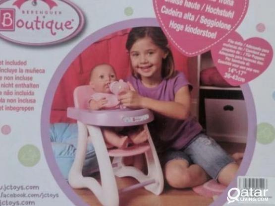 JC Toys high chair toys (new)