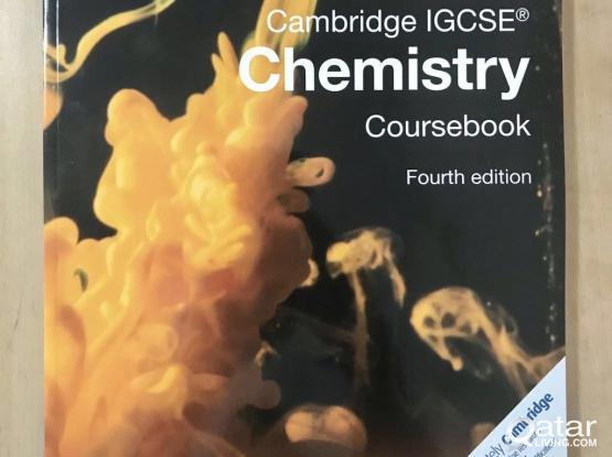 (New) Cambridge IGCSE Chemistry Coursebook fourth edition