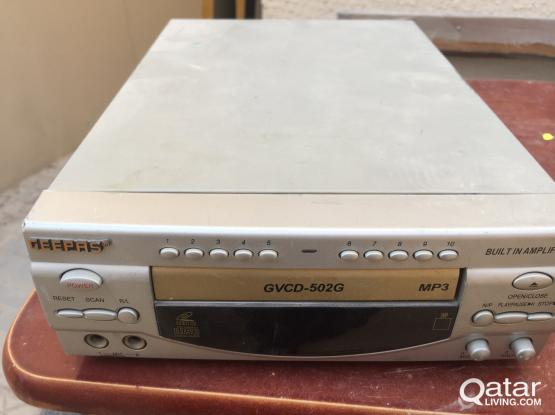 CD player for sale Model GVCD -502G