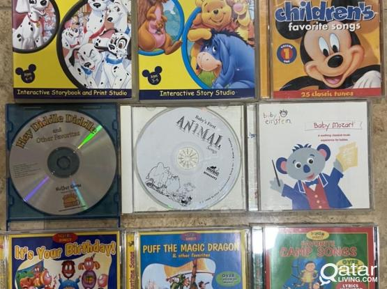 CDs of children songs