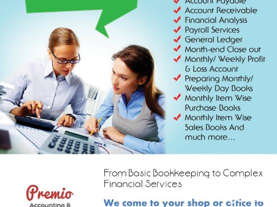 Premio Accounting & Book keeping services