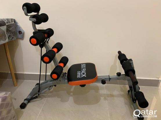 Six pack care Abs workout machine very good condition
