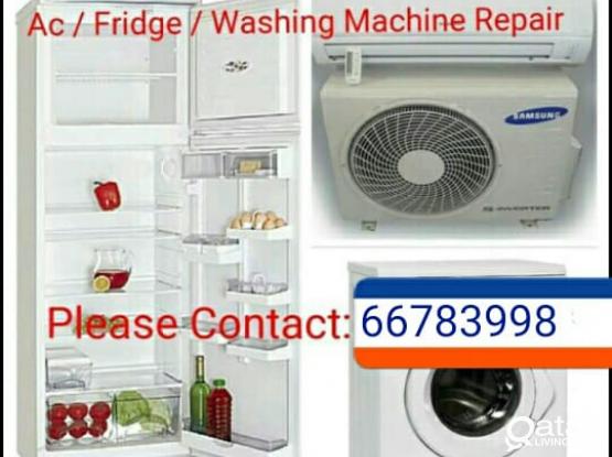AC, FRIDGE, WASHING Buying and selling. CALL 66783998