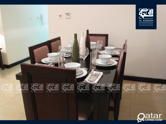 Fully Furnished 3-Bedroom Apartment in Al Sadd