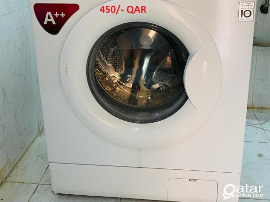 Washing machine, Refrigerator, Bed with mattress, Dining Table with Chair  in Al Wakrah
