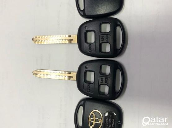 Toyota 3 Hole Key Cover