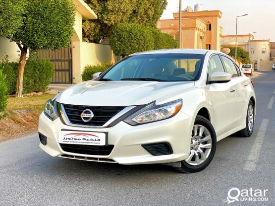 Rent a car for monthly Nissan Altima  ,_)