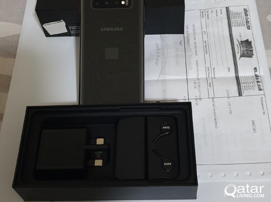 Brand new Galaxy S10+ (512GB) Ceramic Black