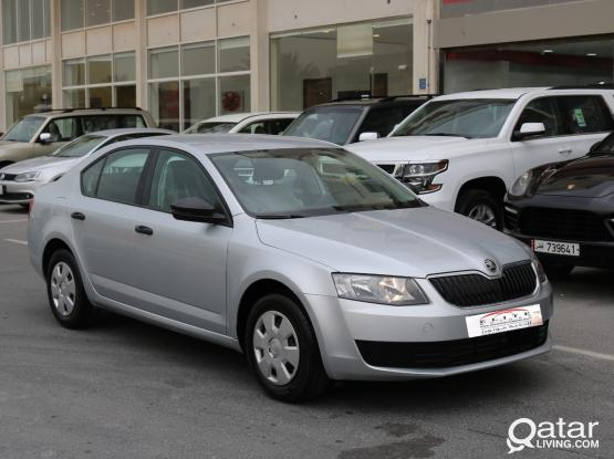 Rent a car for monthly Skoda Octavia   ^..