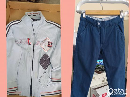 Assorted Kids Clothes Bundle - 5 QAR per pc. minimum of 10 pcs. or 50 qar