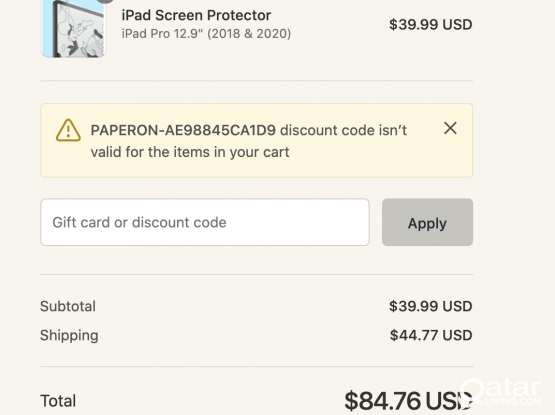 "Paper-like screen protector for iPad pro 12.9"" (2018 & 2020)"