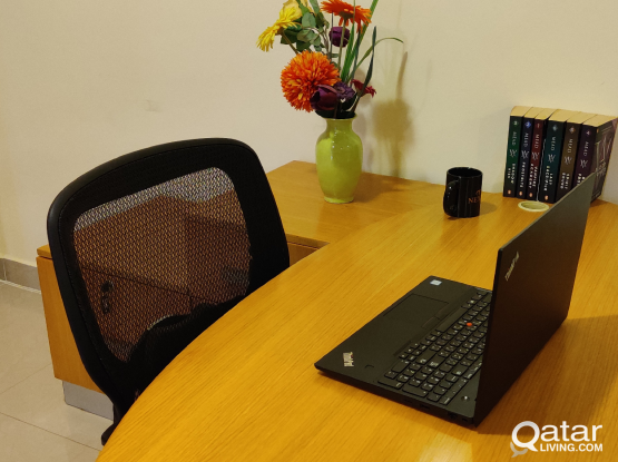 L Shaped Office Table attractive Org Price 5500