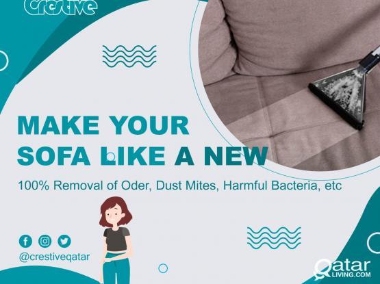 Deep Cleaning : Sofa  / Carpet  / Mattress / Curtain / Water Tank /Call 33220215