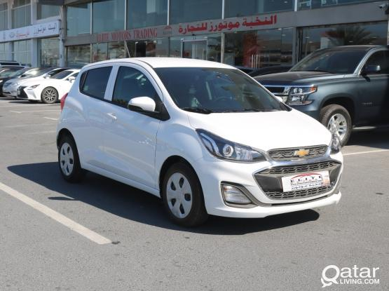 Rent a car for monthly Chevrolet Spark  -(