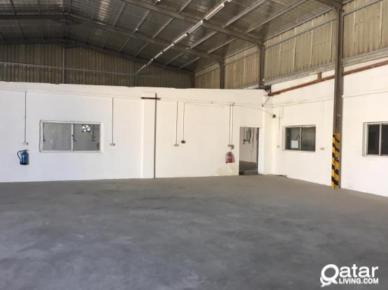 2600 SQUARE METER CHEMICAL STORE FOR RENT IN INDUSTRIAL AREA