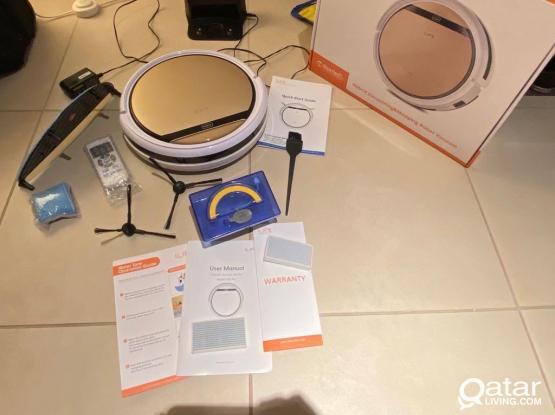 automatic robot vacuum cleaner vacum iLife v5s pro
