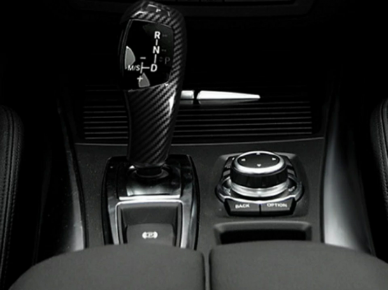 BMW Gear shift Carbon fibre