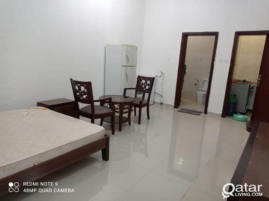 Spacious  fully furnished studio with private balcony at hilal