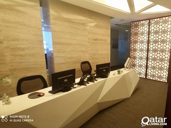 No Commision !! Luxurious Private Office Available in Shamoukh Tower Alsadd