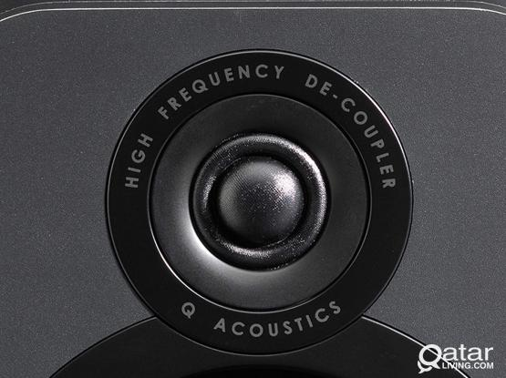 Brand New Q Acoustics 3020 Speakers with optional stands