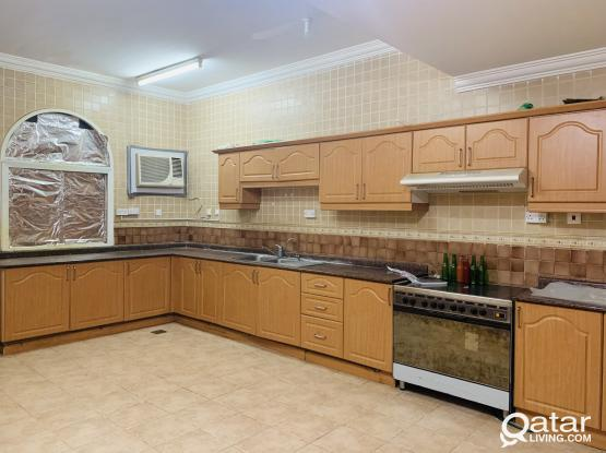 Spacious studio with big kitchen for rent at Thumama for family