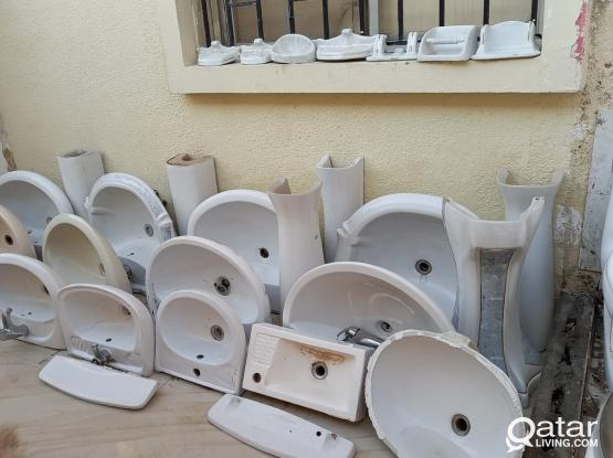 Used Sanitary items & Electric wate heater for SALE