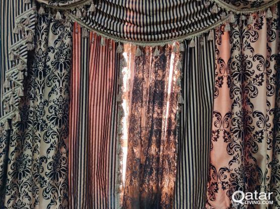 curtain(brown)