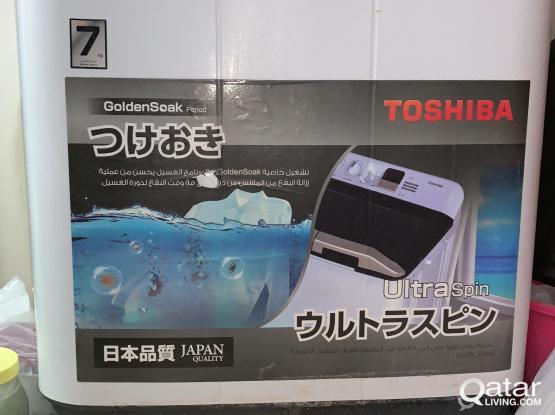 FOR SALE WASHING MACHINE SEMI AUTO TOSHIBA