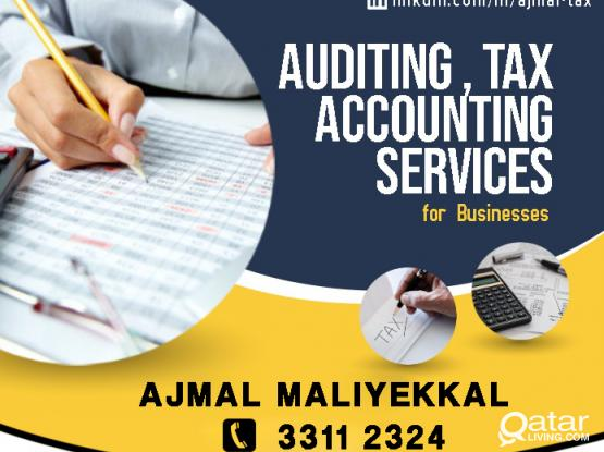 Auditing, Dhareeba, Tax Services, Accounting