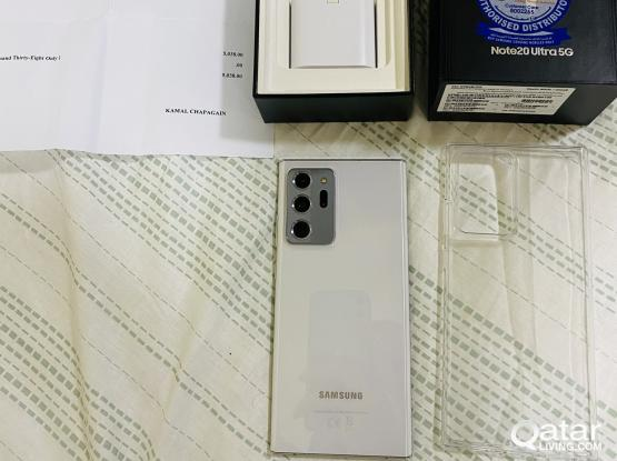 Samsung Note 20 Ultra 5G 256Gb Mystic White