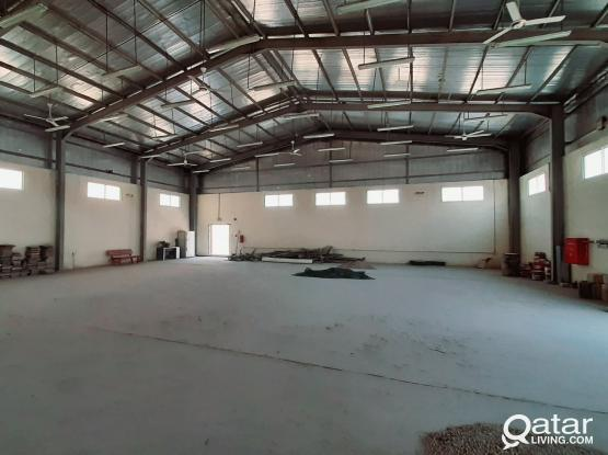 400 SQM STORE WITH 2 ROOMS FOR RENT IN INDUSTRIAL AREA