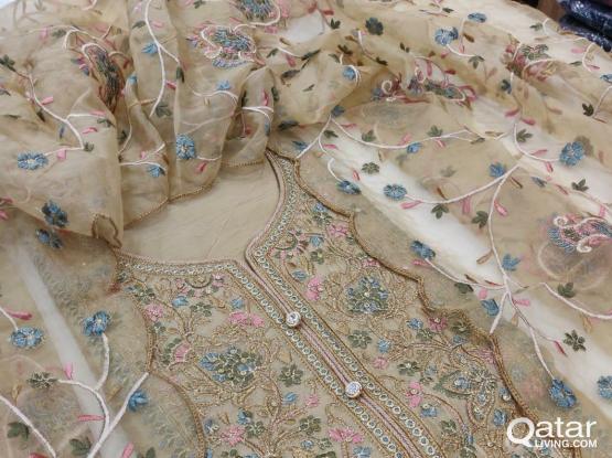 Cashmere cotton dresses