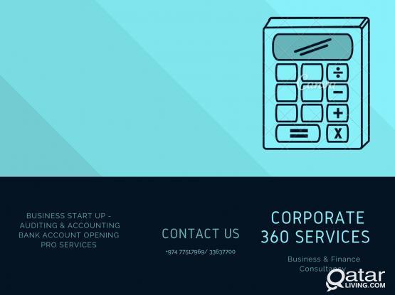 Financial Accounting, Company Bank Opening and Accounting