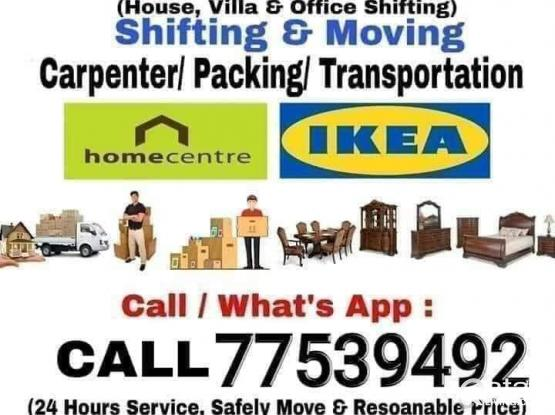 Shifting...moving... Transportation service...call me-77539492