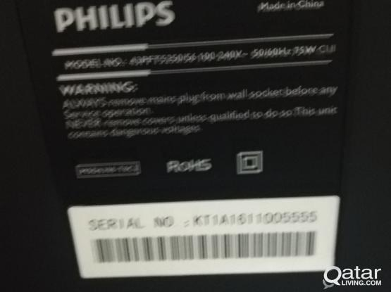 LED TV Philips 43 inch full hd.
