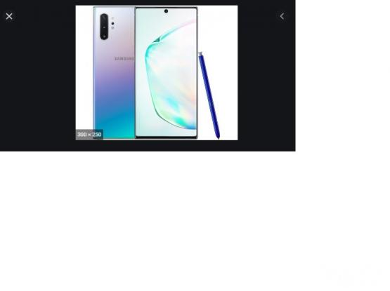 Samsung Galaxy S10 Plus Note for sale- 256 GB