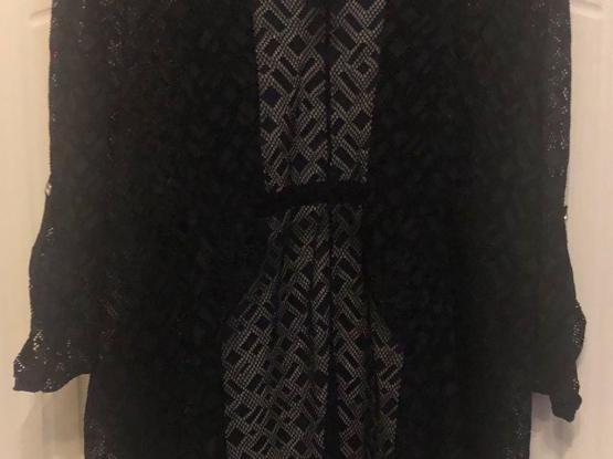 Black Laced Jacket
