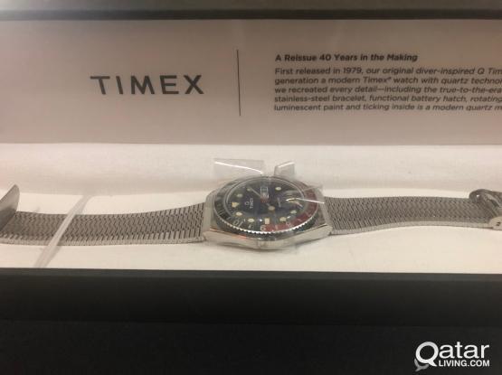 Timex Reissue 38mm Stainless Steel Bracelet Watch