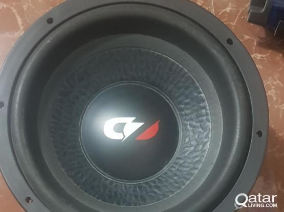 For Sale Car Subwoofer and Amplifier