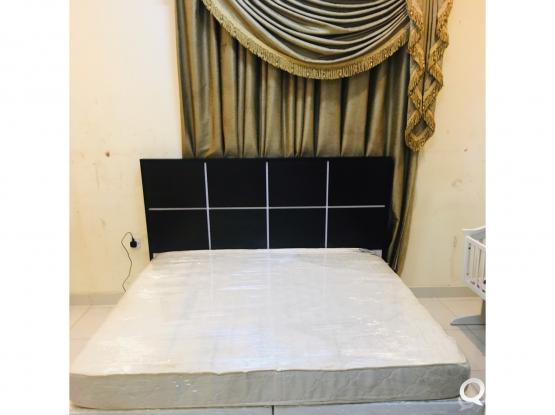 Bed With mattress for sale king size