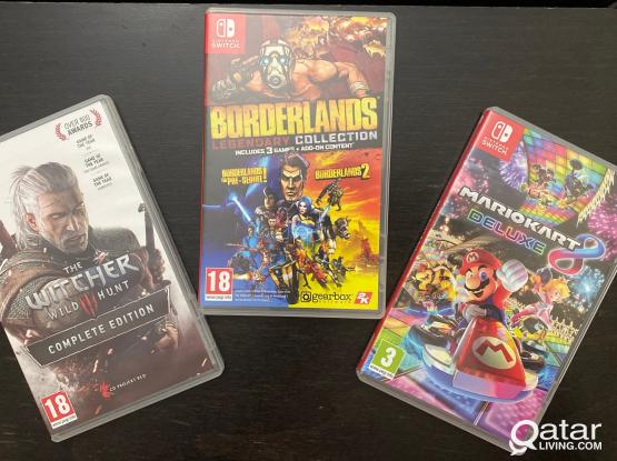Nintendo Switch Games in Brand New Condition