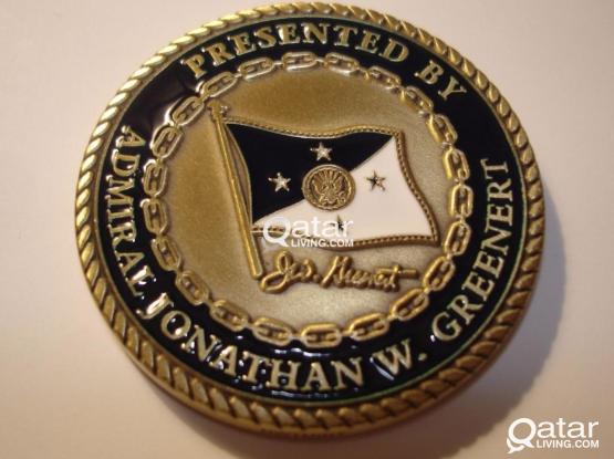Admiral Jonathan Greenert US Navy Memorial Coin