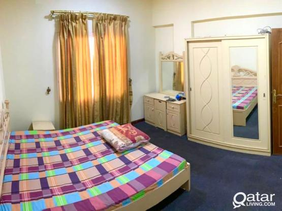 FULLY FURNISHED 2/3BHK NEAR JAIDAH SQUARE UMM GHUWAILINA