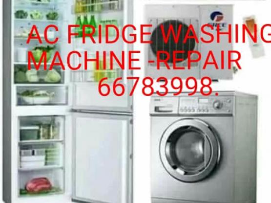 AC FRIDGE WASHING MACHINE REPAIR CALL 66783998..