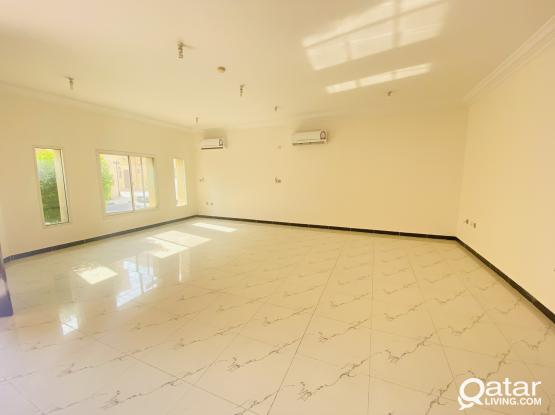 No Commission 1 Month Free 5 Bed 4 Bath Semifurnished Family Compound Villa in Ain Khalid Near AIN KHALID GATE